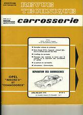 (125) REVUE TECHNIQUE CARROSSERIE OPEL REKORD D et COMMODORE B
