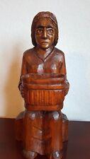 Lindenholz Skulptur.Ein geniales Geschenk zu Weihnachten