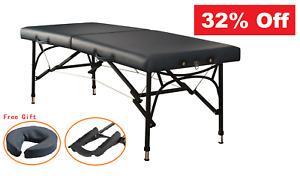 32% Off Master Massage Table 70cm Violet Sport Aluminium Portable Massage Table