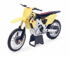 57643 2014 Suzuki RM-Z450 Toy Motocross Dirt  Bike Yellow Model by New Ray