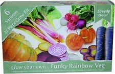 Kräutersamen, Veganes Gemüse, Anzuchtset, 6 Sorten