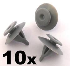 10x Clips Bordes Plástico para Range Rover P38 Interior Puerta trasera/Luz De