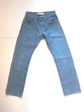 "Levi's 511 Slim Light Blue Denim Jean Straight Leg 27"" Waist Girls Size 14 Reg"