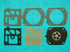 Walbro Replacement D24-HDA Gasket and Diaphragm Kit Fits Husqvarna 357XP, 359 ++