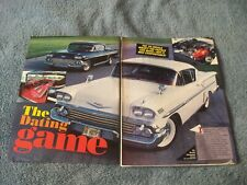 "1958 Chevy Impala Hardtop Vintage Article ""The Dating Game"""
