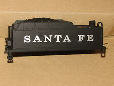 SANTA FE RR TENDER SHELL WITH LADDER, LIGHT, LIFT BAR HO SCALE BY IHC USED NICE