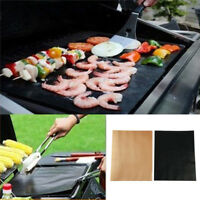 BBQ Grill Mat Baking Sheet Hot Plate Portable outdoor Camping Nonstick J&C