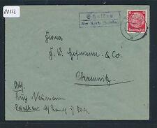 00222) Landpost Ra2 Schalkau über Kanth (Schlesien) Brief 1938