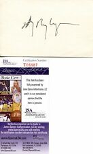 Billy Ray Cyrus Country Music Star Legend Signed Autograph 3x5 JSA COA