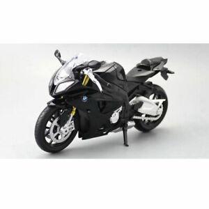 1:12 Scale BMW S1000RR Motorcycle Bike Model Diecast Vehicle Toy Kids Gift Black