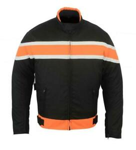 Motorradjacke Textil Cordura Jacke Protektoren Herren Motorrad Biker 44 - 64NEU