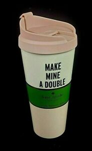 New Kate Spade 16oz Insulated Tumbler Make Mine A Double With Lid
