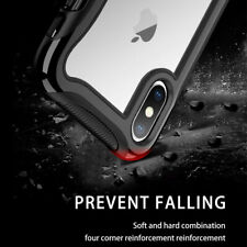 Fits iPhone11 Pro Max XR XS New Shockproof Hybrid Armor Soft Clear Case Cover
