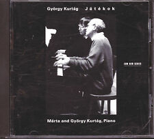 Jatekok - G. Kurtag (CD Used Very Good) Kurtag, Gyorgy & Marta