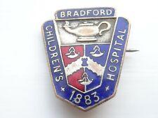 More details for bradford childrens hospital.nurses completion of training badge.1959-62 named