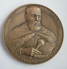 HETMAN CZARNECKI Polish - Lithuanian BATTLE WARKA Swedish invasion MEDAL bronze