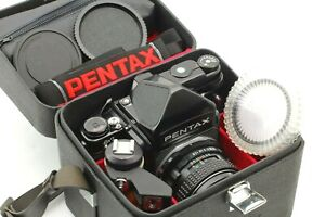 【MINT+++】PENTAX 6x7 Mirror Up Body & 67 Late Model TTL Finder w/90mm f/2.8 JAPAN