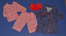 Pleasant Company American Girl Molly McIntire Pajamas Robe Slippers Retired