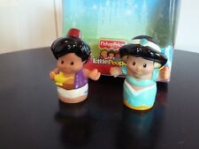 Fisher Price Disney Princess Little People Jasmine & Aladdin figures