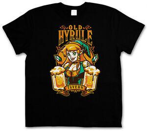 OLD HYRULE TAVERN I T-SHIRT - La légende de Link Gameboy Legend Game Retro Zelda