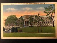 Vintage Postcard>1915-1930>Baker Laboratory of Chemistry>Cornell>Ithaca>N.Y.