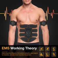 Body Slimming Massager Shaper EMS/ ABS Abdominal Muscle Trainer Smart Pad