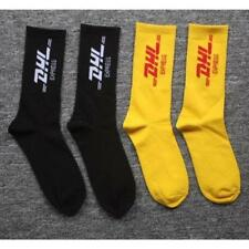 Unisex Socks Vetements Style DHL Letter Print Men Woman Fashion Sock Skaterboard