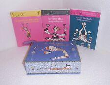La boite zen des paresseuses.Coffret 3 livres.  Z015