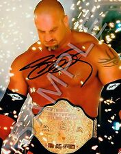 BILL GOLDBERG Personally Autographed Matte Photo with COA