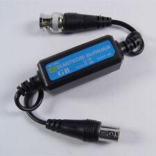 CCTV Vidéo Coaxial sol boucle isolateur de réduire les interférences UK Stock BNC HD