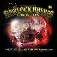 SIR ARTHUR C.DOYLE-SHERLOCK HOLMES CHRONICLES 34:RÄTSEL DER ANSICHTSKARTE CD NEW