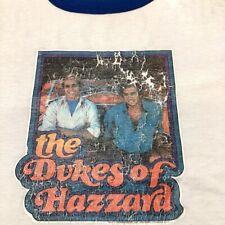 Vintage Dukes of Hazzard Iron On Graphic T Shirt Large