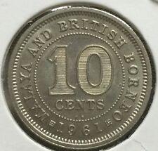 1961KN  QEll 10 cents Scare  Coin  High Grade KN coin BU!