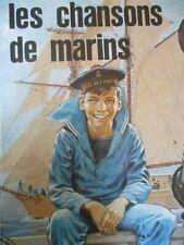 Les chansons de marins Pierre Joubert Jean Rolland Edition originale