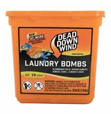 Dead Down Wind Authentic Laundry Bombs 28 ct. Detergent Pods Unscented Enzymes