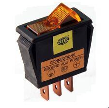 Interruttore Kipp Interruttore 1 pin 12v luce arancione HELLA 6eh 004 406-001 1st.