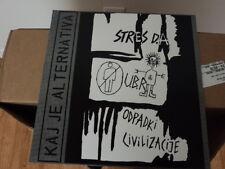 v/a - Kaj Je Alternativa + bonus live 1983 Lp kbd gism stres d.a. ubr NEW