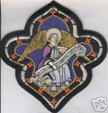Custom Design Christ Jesus Cross Church Applique Embroidery Vestment Stole Patch
