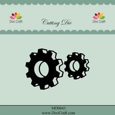Dixi Crafts Cutting Die  3D GEARS DCMD0043