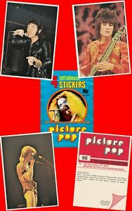 Picture Pop Cards 1974 Panini Stickers 95 x135mm CHOOSE FROM LIST £1.69 to £9.99