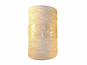 Cotton Flax with Synthetics Garden String Threads Twine Packthread Horticultural