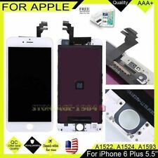 Recyco LCD Screen for iPhone 6 Plus Display - White Touch Digitizer Assembly