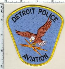 Detroit Police (Michigan) Aviation Shoulder Patch  - new from 1993