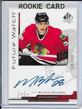 06-07 SP Authentic Michael Blunden Future Watch Rookie Auto # 172