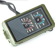 Multifunction 10 in 1 Outdoor Military Camping Hiking Gear Survival Tool Compass