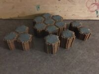 Heroscape Terrain Lot Grey Great Condition