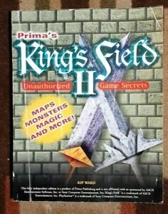 King's Field II Prima Secrets Official Strategy Game Guide