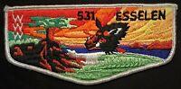 MERGED OA ESSELEN LODGE 531 BSA MONTEREY BAY AREA COUNCIL PATCH RARE FLAP