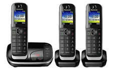 Panasonic KXTGJ323EB Triple Cordless DECT Phone with Answering Machine