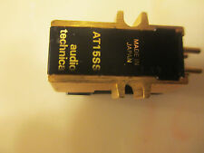 AUDIO TECHNICA AT15SS CARTRIDGE AND GENUINE ATN-15SS SUPER SHIBATA STYLUS
